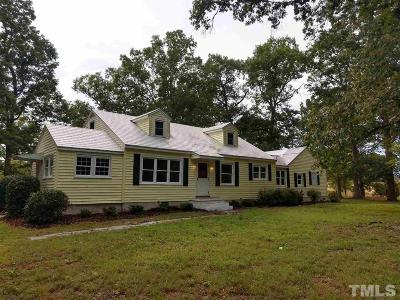 Chatham County Rental For Rent: 1796 Pittsboro Goldston Road