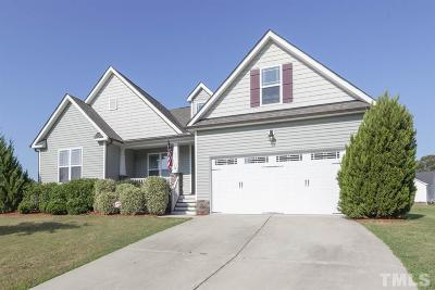 Angier Single Family Home Contingent: 79 Suzanne Drive