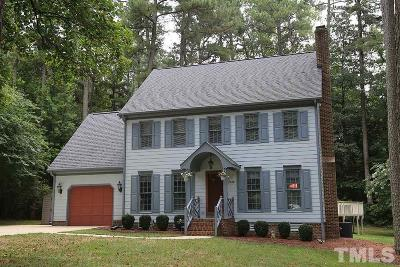 Zebulon Single Family Home For Sale: 3108 Rose Lane