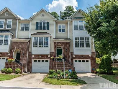 Raleigh Townhouse For Sale: 5443 Crescentview Parkway