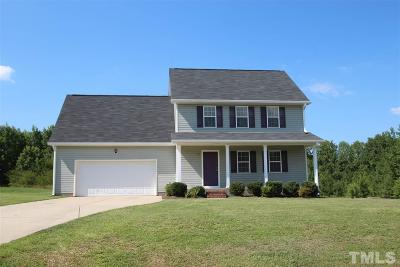 Angier Single Family Home For Sale: 131 Langston Ridge Drive