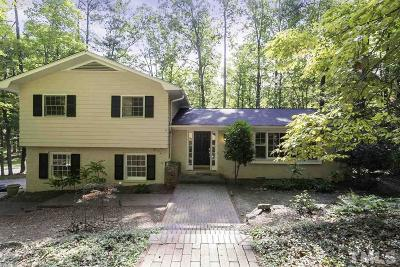 Chapel Hill Single Family Home For Sale: 2134 Meares Road