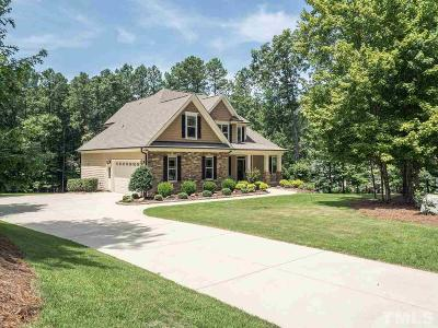 Wake Forest Single Family Home For Sale: 3593 Garner Terrace Way