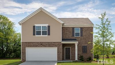Zebulon Single Family Home For Sale: 732 Kenyon Spring Drive #Lot 124