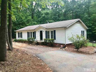 Hillsborough Single Family Home For Sale: 3614 Bivins Road