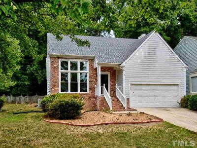 Cary Single Family Home Contingent: 1216 Belhaven Road