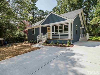 Raleigh Single Family Home For Sale: 2307 Derby Drive