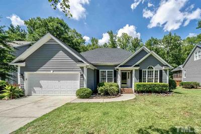 Cary Single Family Home Contingent: 124 Streamview Drive