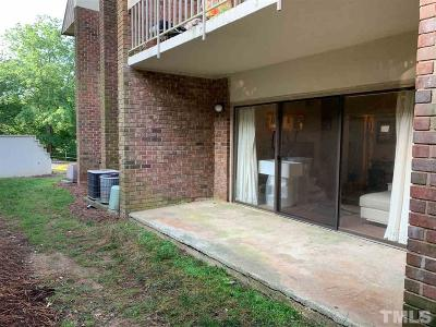 Chapel Hill Condo For Sale: 500 Umstead Drive #101F