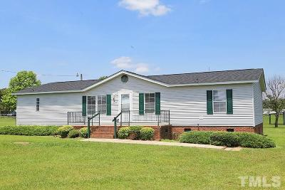Harnett County Manufactured Home For Sale: 829 Red Hill Church Road