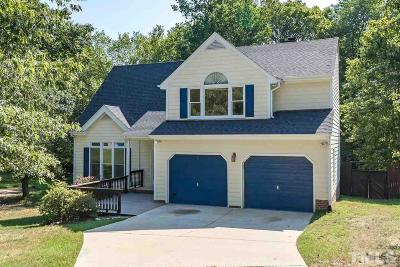 Durham County Single Family Home Contingent: 5500 Frenchmans Creek Drive