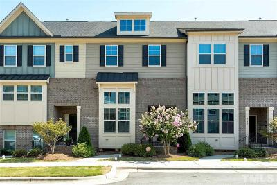 Apex Townhouse Contingent: 514 Old Mill Village Drive