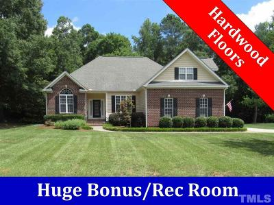 Youngsville Single Family Home For Sale: 60 Holstein Lane