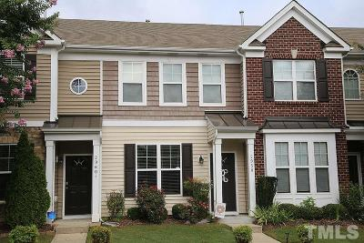 Raleigh Townhouse For Sale: 2958 Berkeley Springs Place