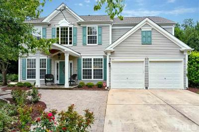 Cary Single Family Home Contingent: 208 Sherwood Forest Place