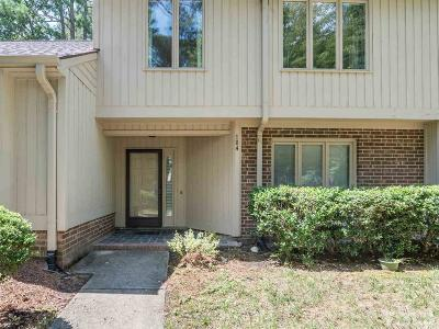 Chapel Hill Townhouse For Sale: 104 Mossbark Lane