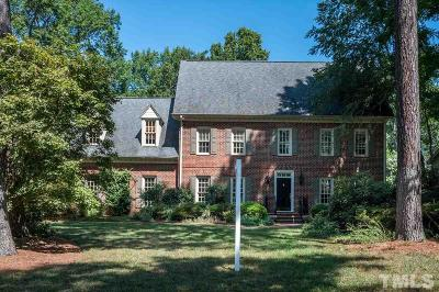 Wake County, Durham County, Orange County, Chatham County Single Family Home For Sale: 7513 Spyglass Way