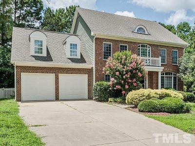Wake Forest Single Family Home For Sale: 1004 Broyhill Hall Court