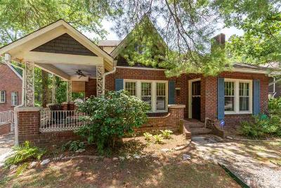 Durham County Single Family Home For Sale: 2209 University Drive