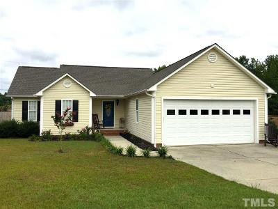 Angier Single Family Home Contingent: 4 Whetstone Drive