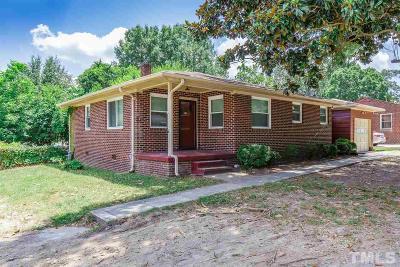 Burlington Single Family Home For Sale: 825 N Graham Hopedale Road