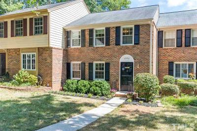 Wake County Townhouse For Sale: 2880 Wycliff Road