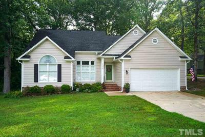 Knightdale Single Family Home Pending: 1004 Clay Hill Drive