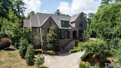 Wake County, Durham County, Orange County, Chatham County Single Family Home For Sale: 3319 Milton Road
