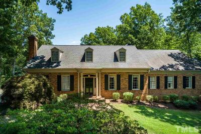 Raleigh Single Family Home Pending: 3210 Sussex Road