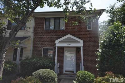 Raleigh Townhouse Pending: 5900 Shady Grove Circle