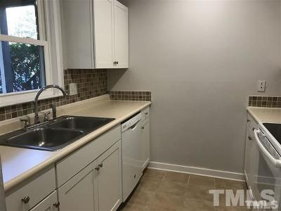 Wake County Rental For Rent: 100 Carmichael Court #100
