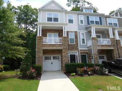 Raleigh Townhouse For Sale: 8024 Sycamore Hill Lane