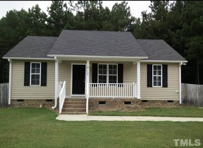 Knightdale Single Family Home Pending: 913 Amber Acres Lane