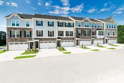 Wake County Townhouse For Sale: 156 Misty Pike Drive