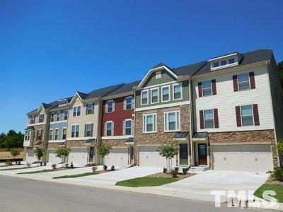 Wake County Townhouse For Sale: 159 Misty Pike Drive