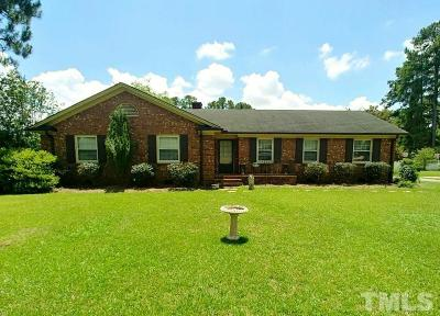 Dunn Single Family Home For Sale: 1005 Westhaven Street