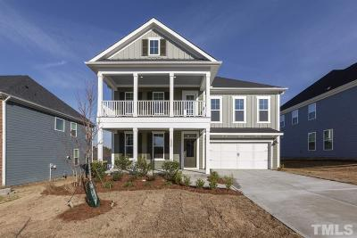 Wake Forest Single Family Home For Sale: 2908 Thurman Dairy Loop #Lot 79