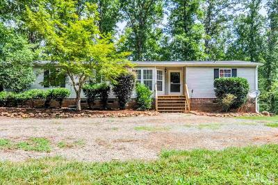 Pittsboro Manufactured Home For Sale: 271 Holly Ridge Road