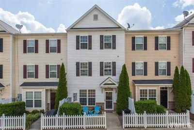 Wake County Townhouse For Sale: 1120 Renewal Place #111