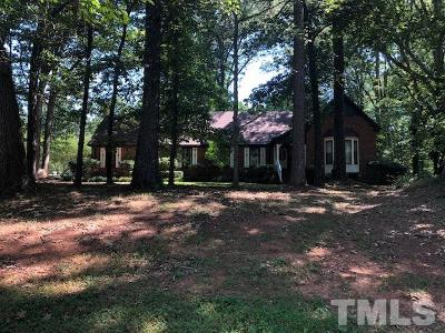 Raleigh Single Family Home For Sale: 5221 Dutchman Drive