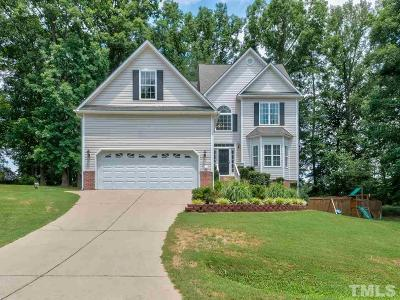Holly Springs Single Family Home Pending: 6620 Country Hollows Lane