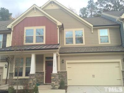Cary Rental For Rent: 3916 Valley Side Court