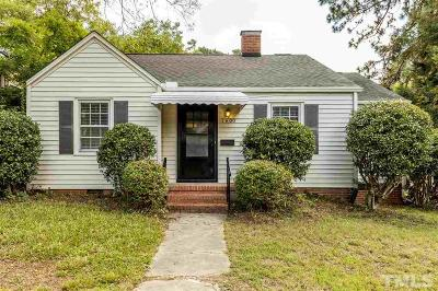 Single Family Home For Sale: 1400 Ruffin Street