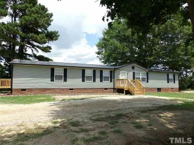 Johnston County Manufactured Home For Sale: 1224 Beulahtown Road
