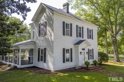 Wake County Single Family Home For Sale: 3521 Banks Road