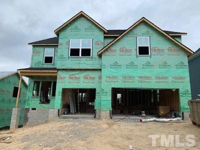 Wake Forest Single Family Home For Sale: 2916 Thurman Dairy Loop #Lot 77