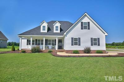Kenly Single Family Home For Sale: 101 Bale Drive