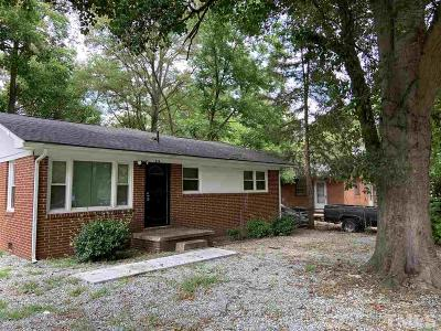 Durham Single Family Home For Sale: 618 Troy Street