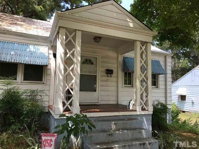 Raleigh Single Family Home For Sale: 607 Harding Street