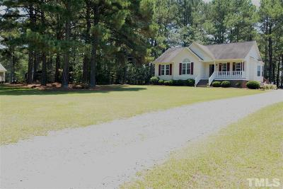 Benson Single Family Home Contingent: 105 Phyllis Drive